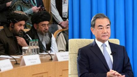 Çin Dışişleri Bakanı, Taliban heyetiyle görüştü