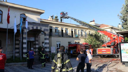 Gaziantep'te hastanede yangın: Hastalar tahliye ediliyor