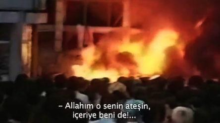 Gerici yazar yakanları görmedi yananları suçladı: Allahım o senin ateşin