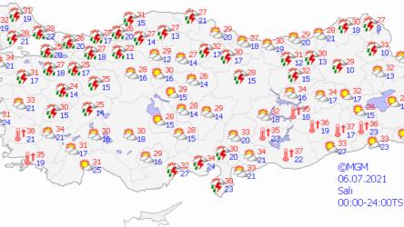 Meteoroloji Genel Müdürlüğü'nden İstanbullulara turuncu kodlu uyarı