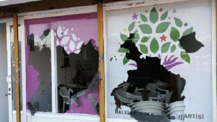 HDP binasına saldırıda bir kişi tutuklandı, 5 kişi salıverildi