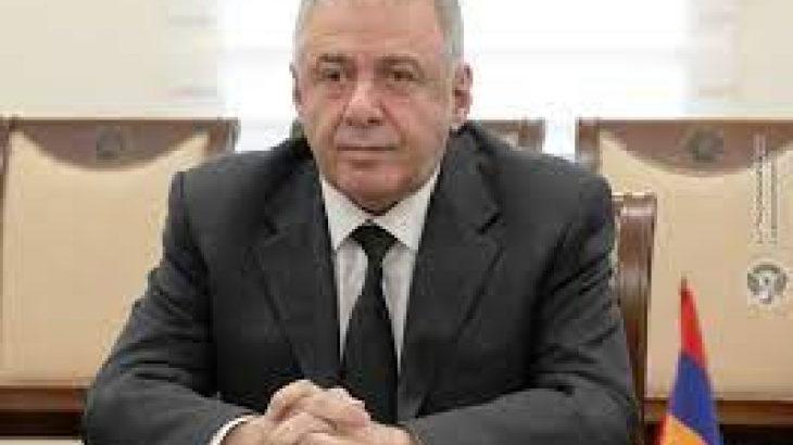 Ermenistan Savunma Bakan Vekili istifa etti