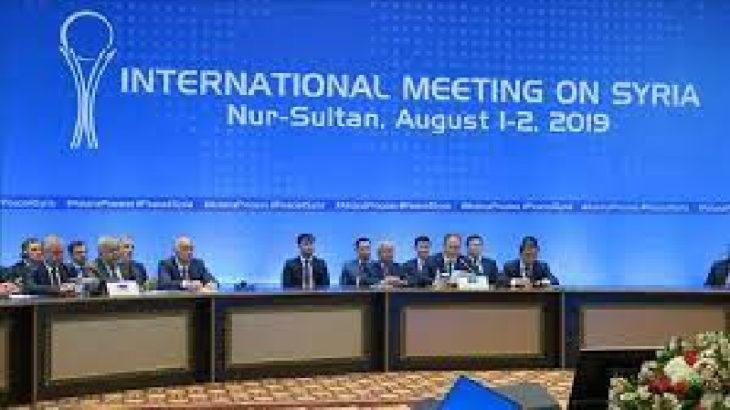 Suriye konulu 16. Astana görüşmeleri Kazakistan'ın başkenti Nur Sultan'da yapıldı