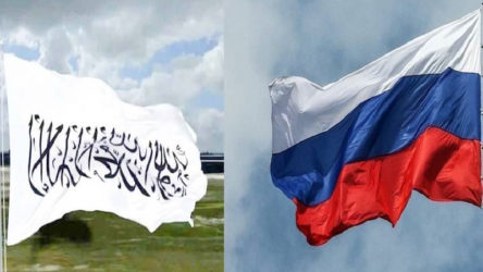 Rus diplomatlar Afganistan'dan tahliye edildi