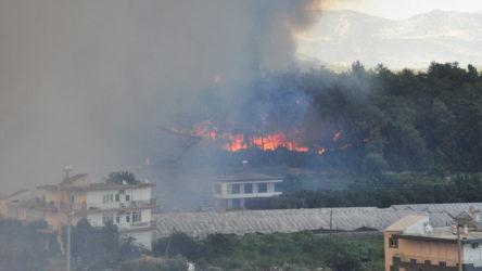 Manavgat ve Akseki ilçelerindeki yangınlardan etkilenen 183 kişi hastanelere başvurdu