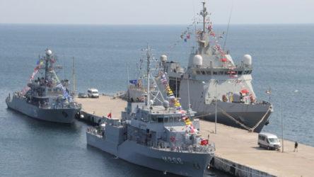NATO gemileri Sinop'ta!