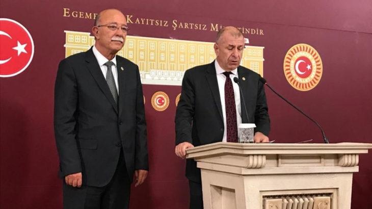 Eski MHP'li Ümit Özdağ Bolu Belediye Başkanı Özcan'ın ırkçı söylemlerine destek verdi