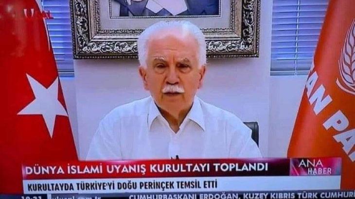Perinçek bu sefer de İran'da çıktı: İslami Uyanış Kurultayı Türkiye temsilcisi