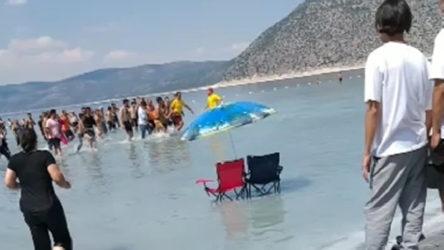 Salda Gölü'ne giren 18 yaşındaki genç boğuldu