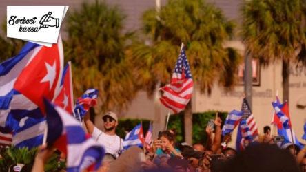 SERBEST KÜRSÜ   Küba'da ABD bayrağı ve Türk sağının heyecanı