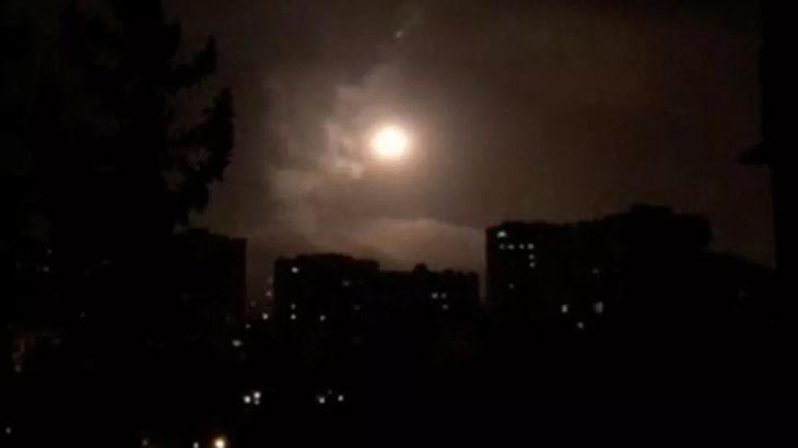İsrail Suriye'ye saldırdı