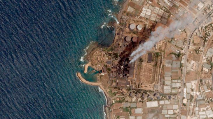 Akdeniz'de Türkiye karasularına yakın bir alanda büyük petrol sızıntısı olduğu bildirildi