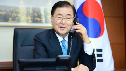 Güney Kore Dışişleri Bakanı Chung Eui-yong: ABD tahliye edilen Afganları Güney Kore'ye yerleştirmek istiyor
