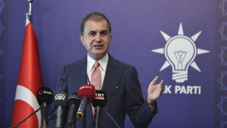 AKP sözcüsü Ömer Çelik: Biz, yıl bitmeden 250 bin fidan dikmiş olacağız.