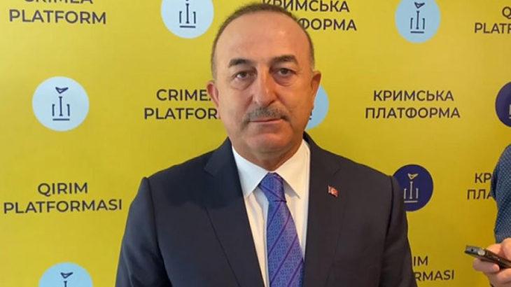Mevlüt Çavuşoğlu, Rusya'nın S-400 açıklaması üzerine NATO'ya bağlılığını yineledi: Kırım'ın ilhakını tanımıyoruz