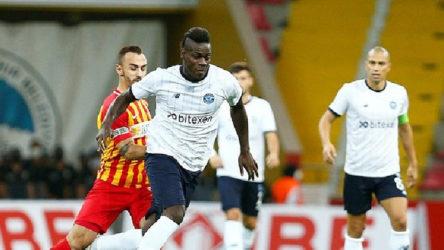 Adana Demirspor ve Yukatel Kayserispor yenişemedi