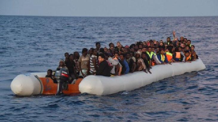 Düzensiz göçmenler Akdeniz'de: 231 kişi yakalandı