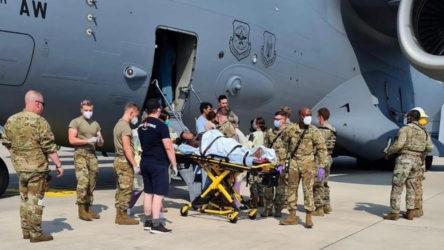 Afganistan'dan tahliye edilirken uçakta bir bebek dünyaya geldi