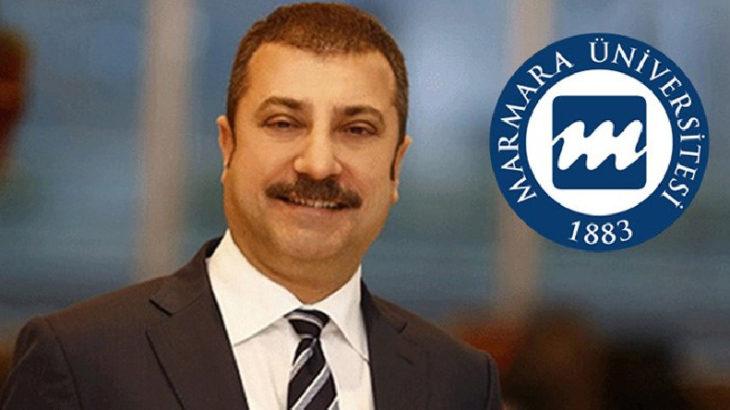 Marmara Üniversitesi'den Merkez Bankası Başkanı'nın tezinde