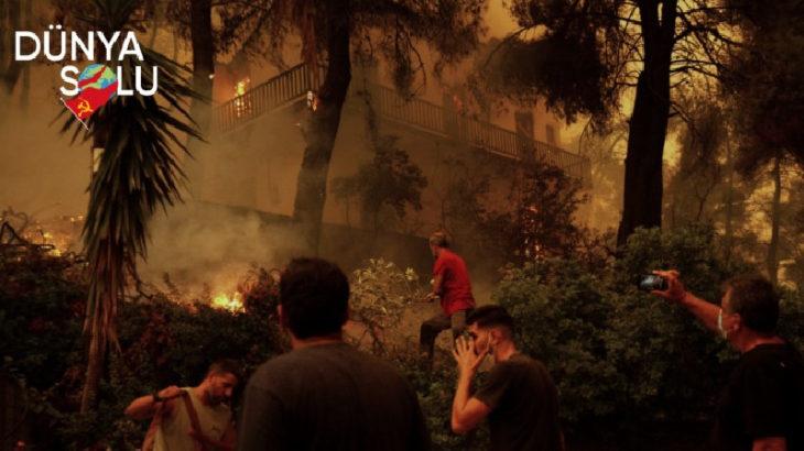 DÜNYA SOLU | Yunanistan Komünist Partisi'nden orman yangınları açıklaması