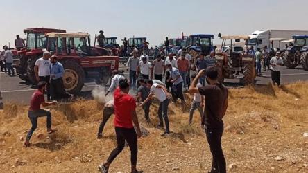 Urfa'da DEDAŞ'ı protesto eden 18 çiftçi gözaltına alındı