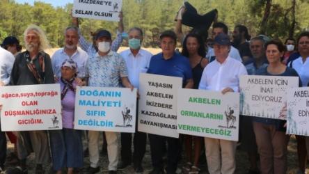 Akbelen direnişçilerinin talepleri: Maden ocağı tamamen durdurulmalı