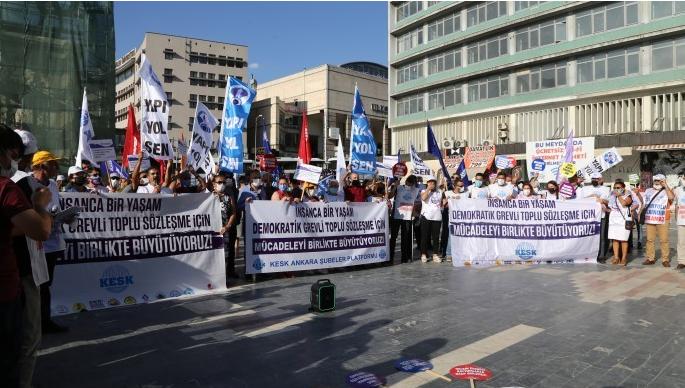 KESK Ankara'da