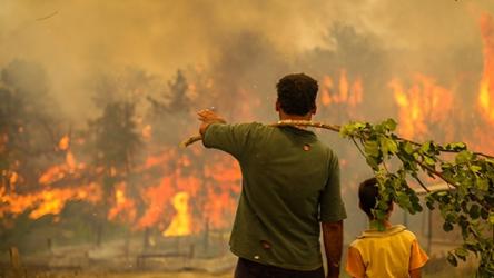 Manavgat yangını şüphelisi hayatını kaybetti