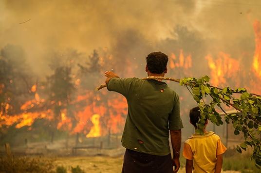 Hatay'daki orman yangınları ile ilgili iki sanığa 'orman yakmaya teşebbüs' suçundan hapis cezası
