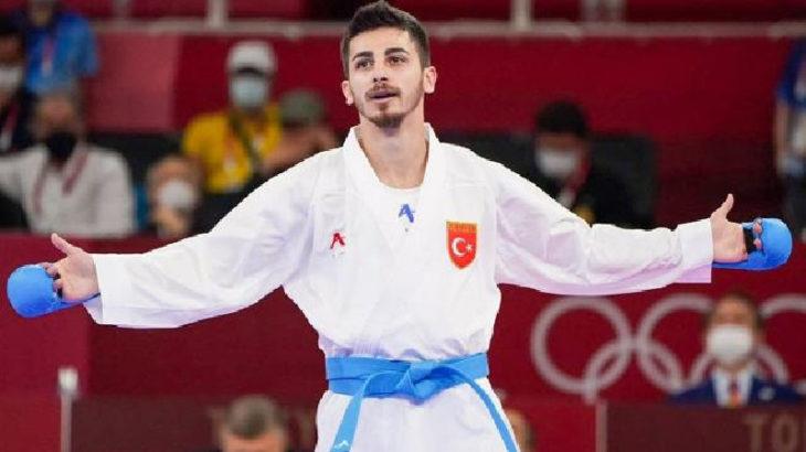 2020 Tokyo Olimpiyat Oyunları'nda karetede Eray Şamdan gümüş madalya kazandı