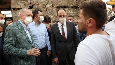 Erdoğan evleri yanan köylülere kredi teklif etti: Ayda 500-500 kira öder gibi