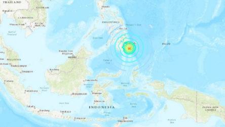 Filipinler'de 7.1 büyüklüğünde deprem