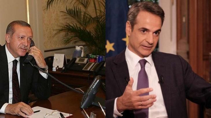 AKP'li Cumhurbaşkanı Erdoğan ve Yunanistan Başbakanı telefonda görüştü
