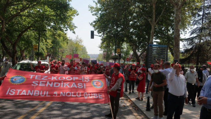 İTÜ işçileri: Haklarımız verilmezse üniversite eylem alanına döner