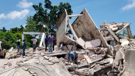 Haiti'de büyük deprem: Yüzlerce kişi hayatını kaybetti