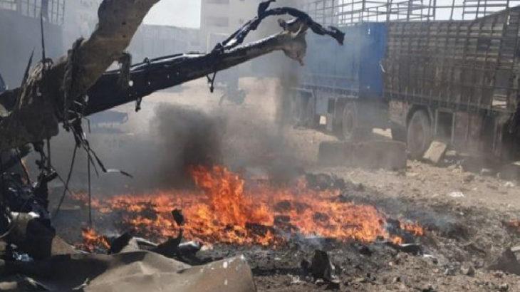 Halep'te patlama