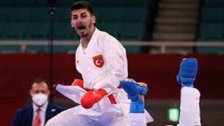 24 yaşındaki milli karateci, Olimpiyatlarda finale yükseldi