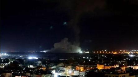 İşgalci İsrail'den Gazze Şeridine hava saldırısı