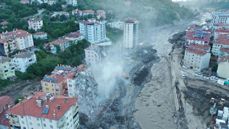 Kardeniz'deki sel felaketinde can kaybı 77'ye yükseldi