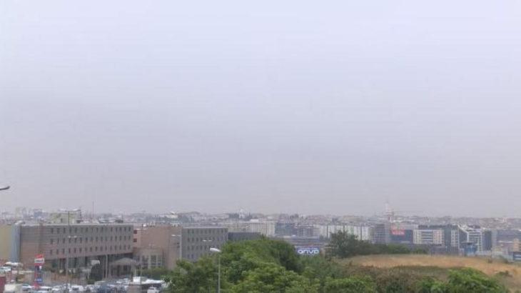 Başta İstanbul olmak üzere çeşitli illerde kül bulutu oluştu