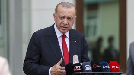 Erdoğan sel felaketi yaşayan Kastamonu'ya gitti
