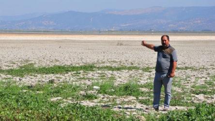 Marmara Gölü kurudu