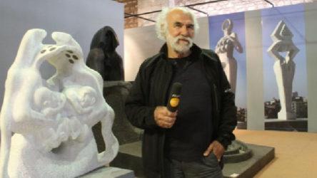 Heykeltıraş Mehmet Aksoy: İlk fırsatta Gezi Direnişi  anıt heykelimi Taksim  Meydanı'na dikmek isterim