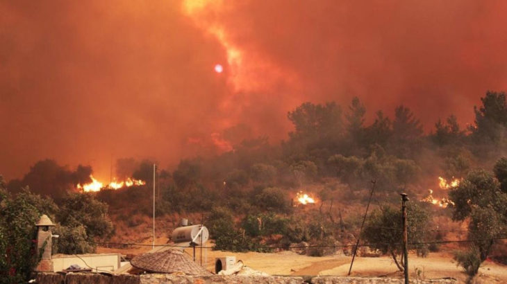 Yangınlar devam ediyor: 14. günündeki Köyceğiz yangını Denizli'ye yaklaştı