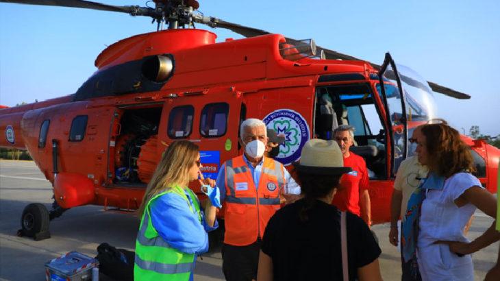 Muğla Büyükşehir Belediyesi'ne 5 ton su kapasiteli helikopter tahsisi