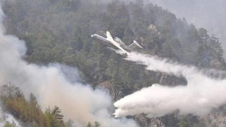 Muğla'da 5 bölgede yangın devam ediyor