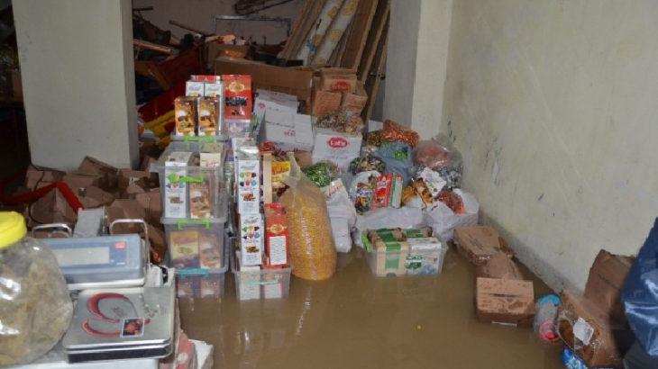 Ordu'nun Fatsa ilçesinde sağanak: Ev ve iş yerlerini su bastı