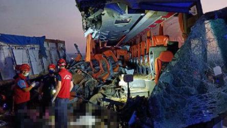 Soma'da büyük kaza: 9 kişi hayatını kaybetti 30 kişi de yaralandı