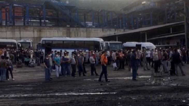 Maden işçileri eyleme çıktı: Hakaretler, mobbing, para cezaları yetti artık