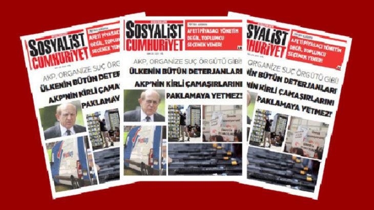 Sosyalist Cumhuriyet e-gazete 210. sayı